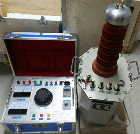 GDJZ Series Oil Immersed Test Transformer AC DC Hipot Tester for Cable Withstand Voltage Testing