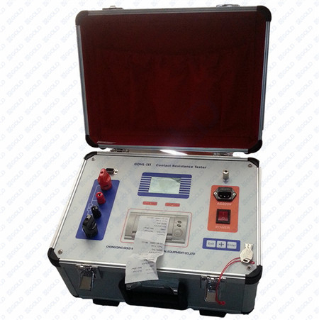 GDHL 100A, 200A, 400A Circuit Breaker Contact Resistance Tester, Loop Resistance Tester