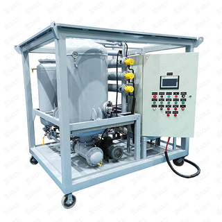 ZJA High Vacuum High Voltage Transformer Oil Purifier, Insulating Oil Filtration Machine
