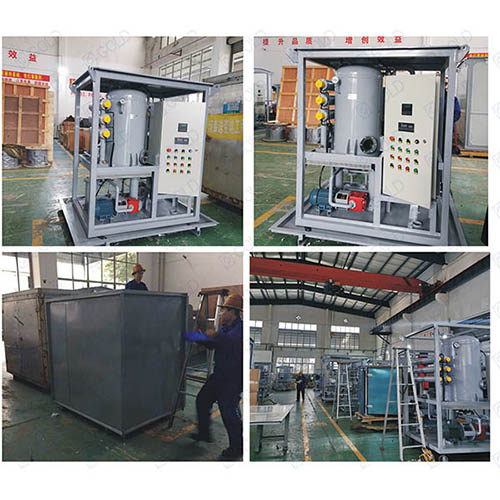 ZJA-1800L/H Transformer Oil Purifier Sold to Philippines
